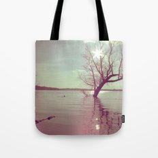 Peaceful Lake! Tote Bag