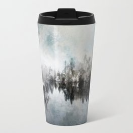 Winter on the Menominee Travel Mug