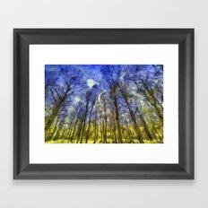 Fantasy Art Forest Framed Art Print