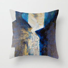 Flatlined Throw Pillow