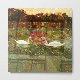 Dream Series - Swan's Lake 007 Metal Print