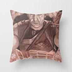 Riddick Throw Pillow