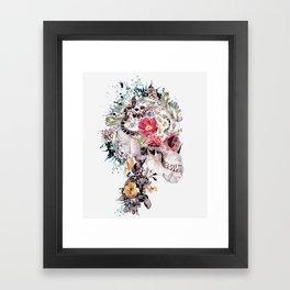 Momento Mori X Framed Art Print