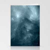nebula Stationery Cards featuring NeBula by 2sweet4words Designs