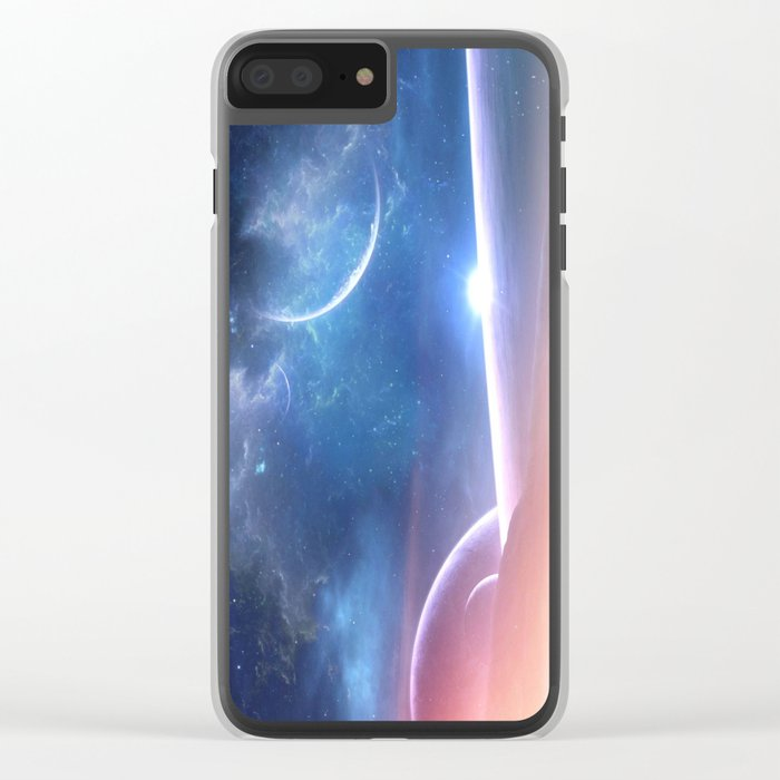 A world untouched Clear iPhone Case