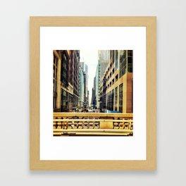 see right through Framed Art Print