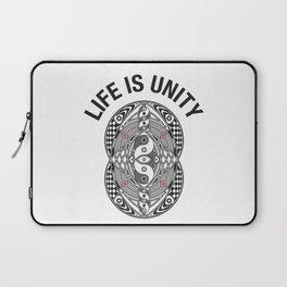 Vesica Piscis Life Is Unity Laptop Sleeve
