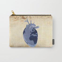 The earth is our heart - EARTH DAY '16 - all artist profits to be donated Carry-All Pouch