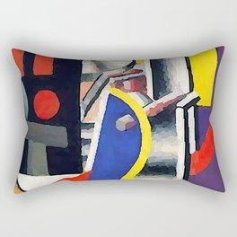 Fernand Leger The Factory Rectangular Pillow