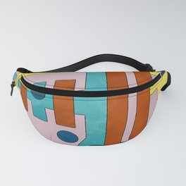 Raygun Capacitor - Abstract Composition Fanny Pack