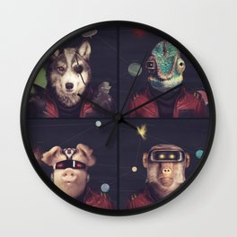 Star Team - Pirates of Lylat Wall Clock