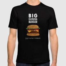 Pulp Fiction - big kahuna burger Black Mens Fitted Tee MEDIUM