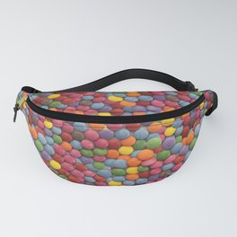 Smarties Milk Chocolate Candy Pattern Fanny Pack