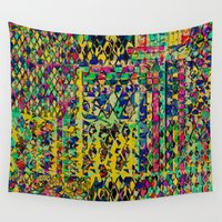 circus Wall Tapestries featuring Circus by Glanoramay