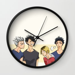 Dumbs~ Wall Clock