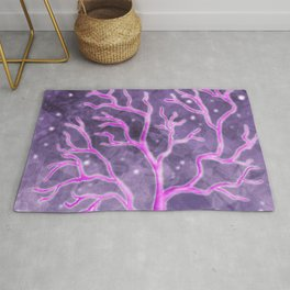 Crystalized Tree Rug