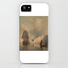 Off the Needles Isle of Wight iPhone Case