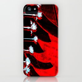 Surf in the City - Black + Red iPhone Case