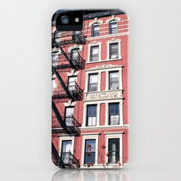 Lower East Side Red iPhone Case