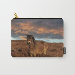Horse on the moors Carry-All Pouch