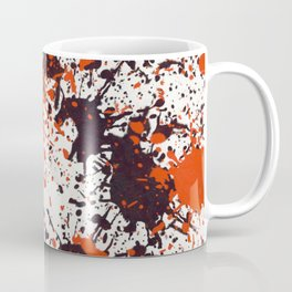 Action Painting No 123 By Chad Paschke Coffee Mug