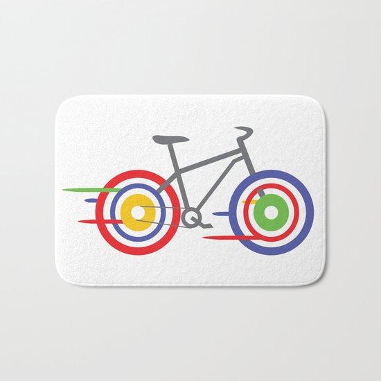 Bike! Bath Mat