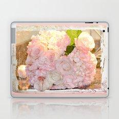 Lovely, Hydrangeas and Roses Laptop & iPad Skin