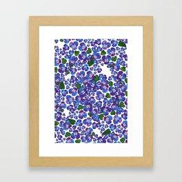 MENEKSE_WHITE Framed Art Print