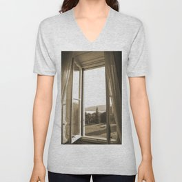 Another window in Tuscany Unisex V-Neck