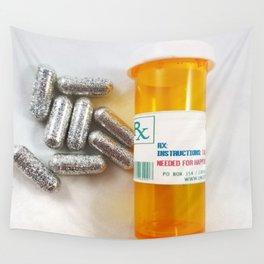 Glitter Pills II Wall Tapestry