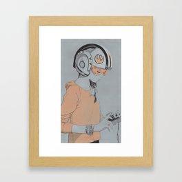 Rebel Framed Art Print