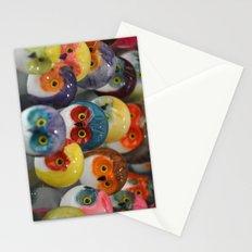 Alabaster Owls Stationery Cards