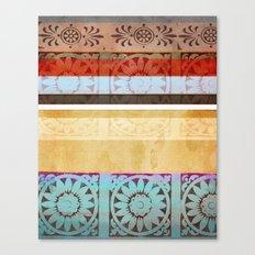 Textiles Canvas Print