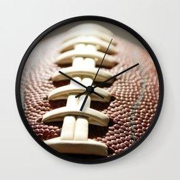 Football Season, American Sports, Pigskin Wall Clock