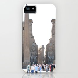 Temple of Luxor, no. 10 iPhone Case