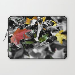 colors in contrast Laptop Sleeve