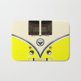 YELLOW minibus lovebug iPhone 4 4s 5 5c 6 7, pillow case, mugs and tshirt Bath Mat