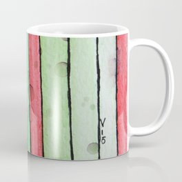 Christmas Stripes Coffee Mug
