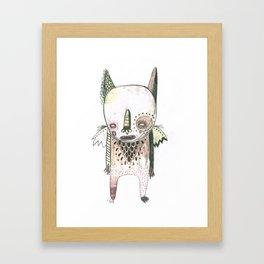 Random Monster Drawing 01 Framed Art Print