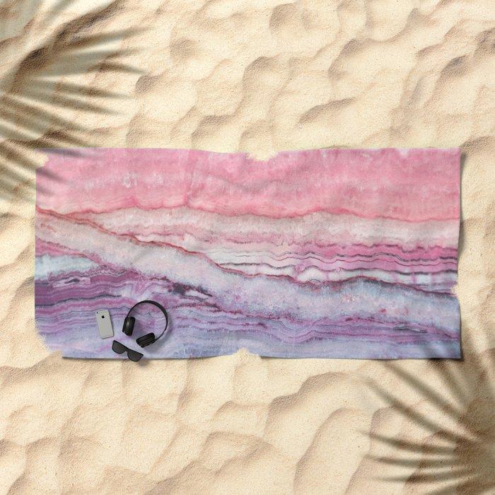 Mystic Stone Serenity Crossing Beach Towel