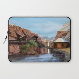 Waterfall Settlement Laptop Sleeve