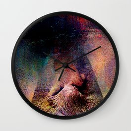 And God created Adam  Wall Clock