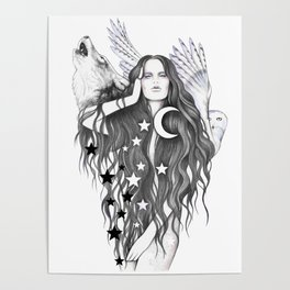 Moon Witch Poster