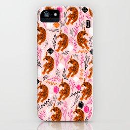 Cute Leopard iPhone Case