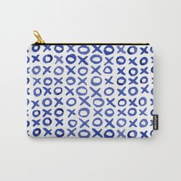 Xoxo valentine's day - blue Carry-All Pouch