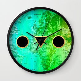 Shape your world Wall Clock