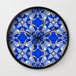 Blue Sapphire Wall Clock