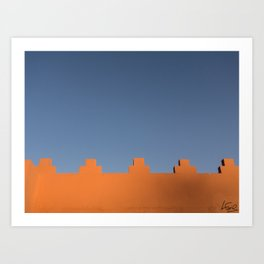 Marrakech Sky Art Print