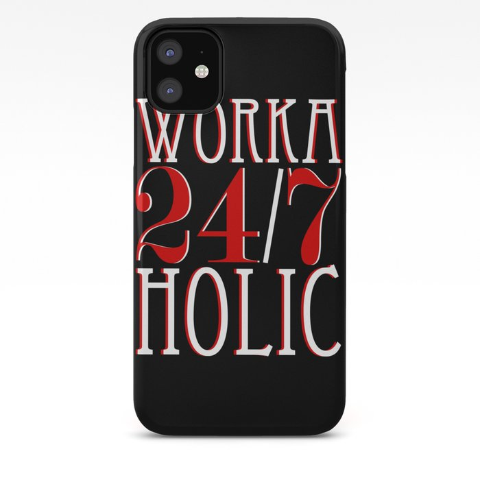 Workaholics art iphone case