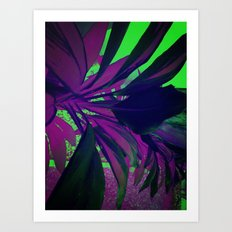 Behind the foliage Art Print